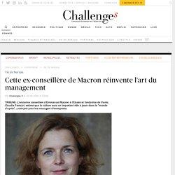 L'ex-conseillère de Macron donne des conseils de management