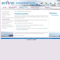 Enfine : anorexie, boulimie, hyperphagie