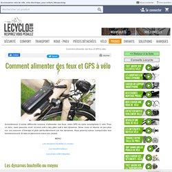 Conseils : charger ses appareils électriques à vélo