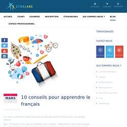 10 conseils pour apprendre le français