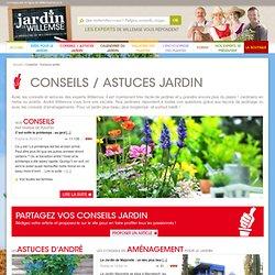 Conseils / Astuces Jardin