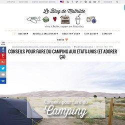Préparer son road trip aux Etats-Unis : l'option camping