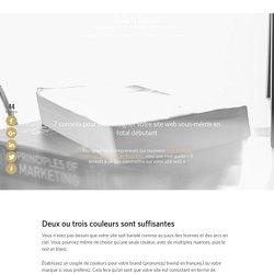 7 conseils pour bien designer votre site web en total débutant