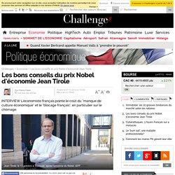 Les bons conseils du prix Nobel d'économie Jean Tirole