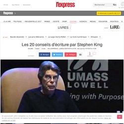 Les 20 conseils d'écriture par Stephen King
