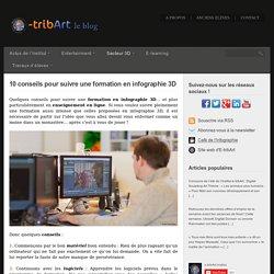 10 conseils pour suivre une formation en infographie 3D - Blog de l'école 3D e-tribArt