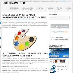 5 conseils et 11 sites pour harmoniser les couleurs de votre site