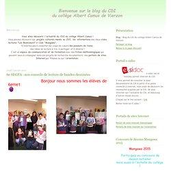 6e SEGPA : nos conseils de lecture de bandes dessinées - Blog du CDI du collège Albert Camus de Vierzon