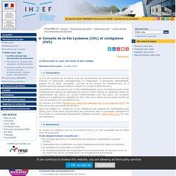 Conseils de la Vie Lycéenne (CVL) et collégienne (CVC)