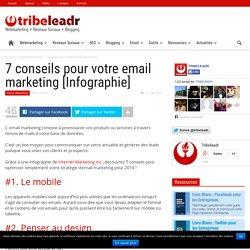 7 conseils pour votre email marketing