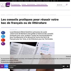 Les conseils pratiques pour réussir votre bac de français ou de littérature