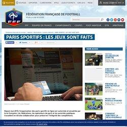 Conseils pratiques - Paris sportifs : les jeux sont faits
