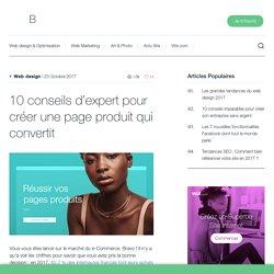 10 conseils d'expert pour créer une page produit qui convertit