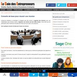 5 conseils pour réussir une réunion d'entreprise
