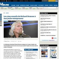 Les 5 conseils de Richard Branson