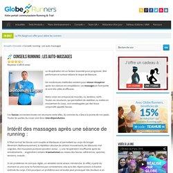 Conseils running : Les auto-massages