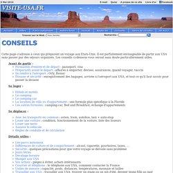 Etats-Unis - Conseils aux voyageurs - www.visite-usa.fr