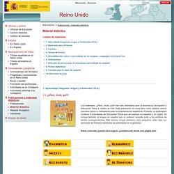 Material didáctico - Consejerias Exteriores - Ministerio de Educación, Cultura y Deporte - Gobierno de España