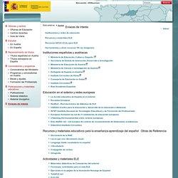 Enlaces de interés - Consejerias Exteriores - Ministerio de Educación, Cultura y Deporte - Gobierno de España