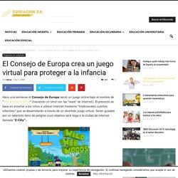 El Consejo de Europa crea un juego virtual para proteger a la infancia