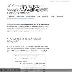 10 Consejos de Google Adwords para tiendas online