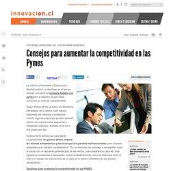 10 consejos para aumentar la competitividad en las Pymes