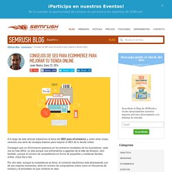 Consejos de SEO para eCommerce para mejorar tu tienda online