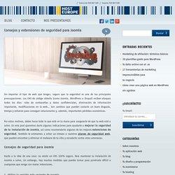 Consejos y extensiones de seguridad para Joomla