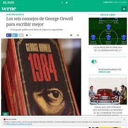 Los seis consejos de George Orwell para escribir mejor