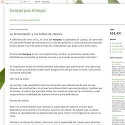 Consejos para el herpes: La alimentación y los brotes de Herpes