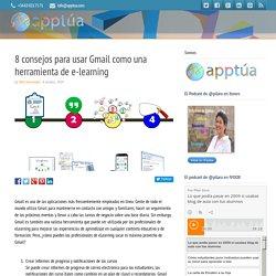 8 consejos para usar Gmail como una herramienta de e-learning
