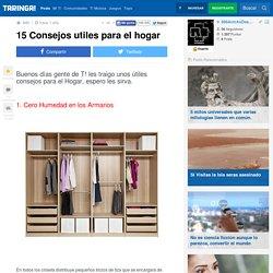 15 Consejos utiles para el hogar