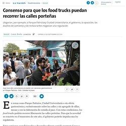 Consenso para que los food trucks puedan recorrer las calles porteñas - 23.09.2016 - LA NACION