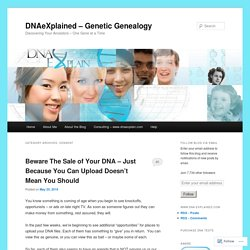 DNAeXplained – Genetic Genealogy