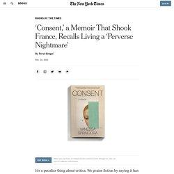 Book Review: 'Consent,' by Vanessa Springora