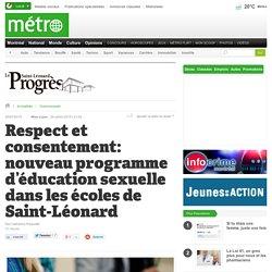 Respect et consentement: nouveau programme d'éducation sexuelle dans les écoles de Saint-Léonard