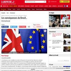 Les conséquences du Brexit... - 18/01/2017 - ladepeche.fr