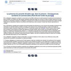 PROGRAMME MIXTE FAO/OMS SUR LES NORMES ALIMENTAIRES - COMMISSION DU CODEX ALIMENTARIUS - Vingt-quatrième sessionGenève (Suisse),