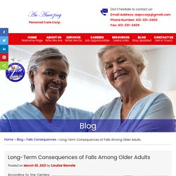 Long-Term Consequences of Falls Among Older Adults