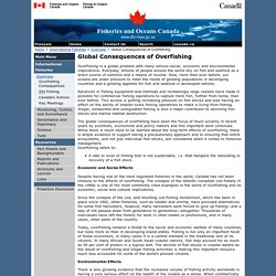 Global Consequences of Overfishing - International Fisheries