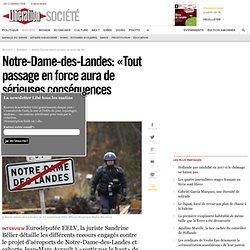Notre-Dame-des-Landes: «Tout passage en force aura de sérieuses conséquences juridiques»