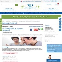 Les conséquences du stress sur l'organisme - Conseils santé Surmenage & stress - Détente & Sommeil