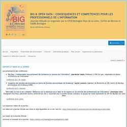 Big et Open Data : consequences pour les professionnels de l'information ? - Sciencesconf.org