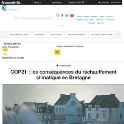 COP21 : les conséquences du réchauffement climatique en Bretagne
