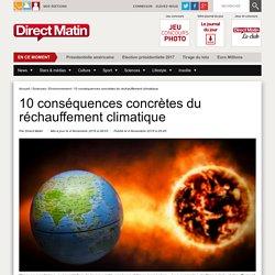 10 conséquences concrètes du réchauffement climatique