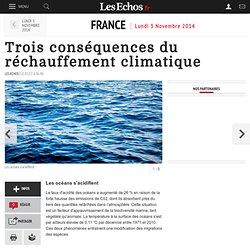 Trois conséquences du réchauffement climatique, France
