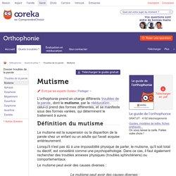 Mutisme: types, causes, conséquences et traitements du mutisme