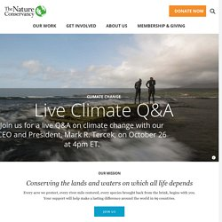 Nature Conservancy | Protecting Nature, Preserving Life