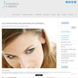 Los conservantes mas utilizados en cosmetica - Cosmética a Medida