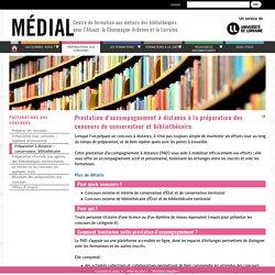 Préparation à distance – conservateur / bibliothécaire